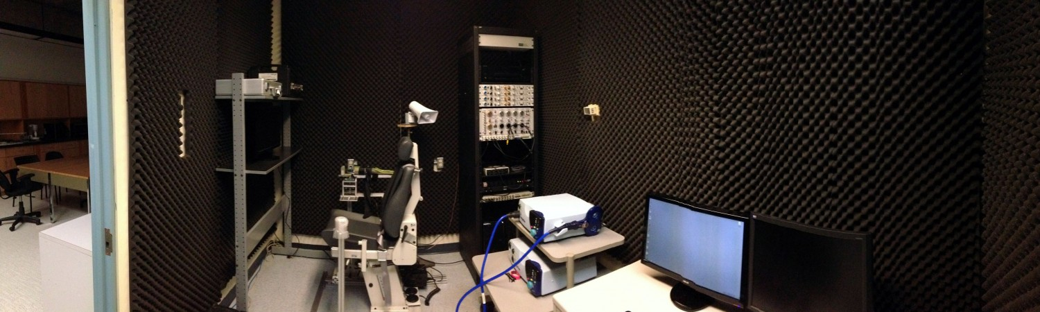 One of our testing rooms.
